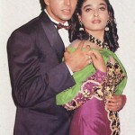 Raveena Tandon with Akshay Kumar