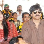 Ravi Teja with his wife