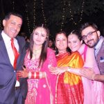 Raviza Chauhan with her family
