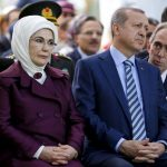Recep Tayyip Erdoğan with his Wife