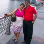 Reema Worah sister and father