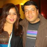 Rekha Thapa with her Ex-husband Chhabi Raj Ojha