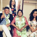 Rekha Thapa with her family