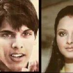 Rekha with ex boyfriend Sajid Khan