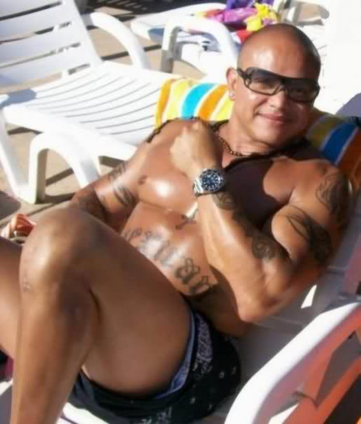 Rey Mysterio without Mask