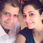 Ridhima Tiwari with her father