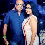 Rinku Ghosh with her husband Amit Dutta Roy
