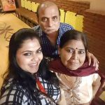 Rinku Ghosh with her parents