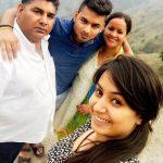 Rishabh Pant with his family