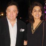 Neetu Singh with her husband Rishi Kapoor