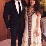 Ritika Sajdeh with her husband Rohit Sharma