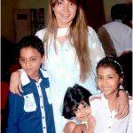 Ritu Shivpuri with her children