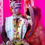 Lalita with her husband Rohit Chillar