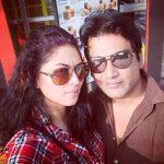 Ronnit Biswas with Kavita Kaushik