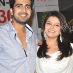 Rubina Dilaik with Avinash Sachdev
