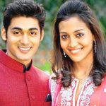 Ruslaan Mumtaz with his wife