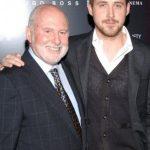 Ryan Gosling with his father Thomas Gosling
