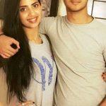 Saboor Ali with her brother