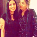 Saboor Ali with her mother