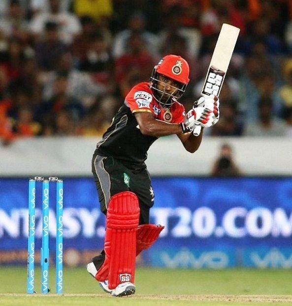 SachBaby batting for RCB in IPL