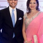 Sachin Pilot with his wife