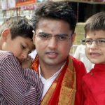 Sachin Pilots with his sons