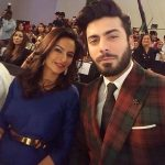 Sadaf Khan with her Husband