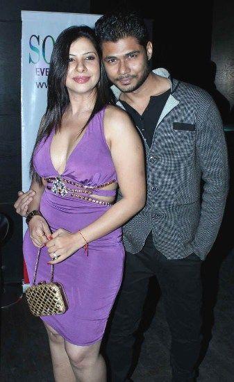 Avinash Dwivedi with Sambhavna Seth