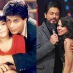 Sana Saeed with Shah Rukh Khan in 1998 and 2015