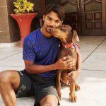 Sandeep Sharma with his pet