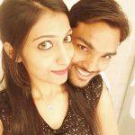 Sandeep Sharma with his wife