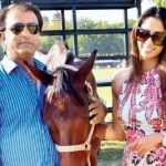 Sangeeta Ghosh with her husband