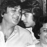 Sanjay Dutt With His Parents