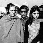 Sanjay Gandhi with his wife