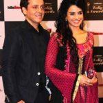 Sara Arfeen Khan with husband Arfeen Khan