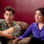Sarah Silverman with her Ex-boyfriend Sam Sedar