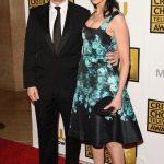 Sarah Silverman with her boyfriend Michael Sheen