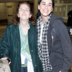Sarah Silverman with her mother