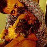 Satyadeep Mishra with his pet