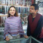 Saurabh Devendra Singh with Saumya Tandon