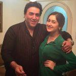 Sayyeshaa Saigal with her father