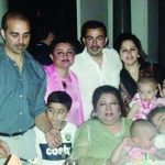 Shaan Shahid with his family