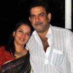 Shabana Azmi with brother Baba Azmi