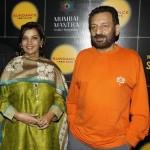 Shabana Azmi with Shekhar Kapur