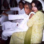Shabeena Adeeb with her parents