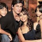 Shahrukh khan Gauri Khan and kids