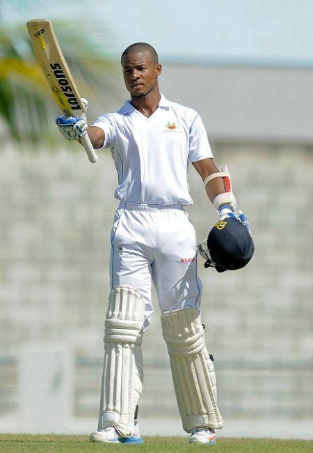 Shai Hope batting