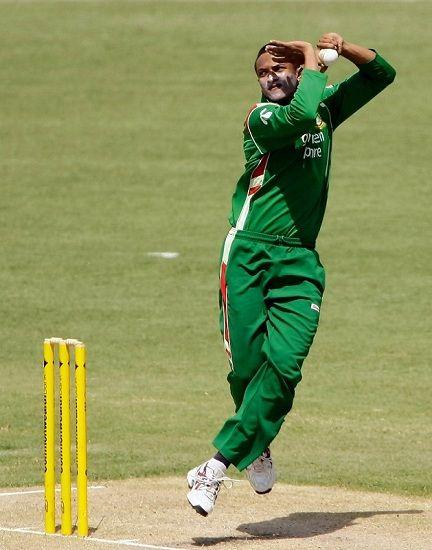 Shakib Al Hasan Bowling