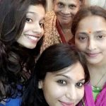 Shamata With Her Mother Sister and Granny