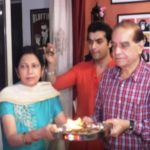 Sharad Malhotra with his parents